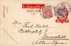 3535: Italienische Post in der Levante - Ganzsachen