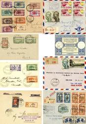 3850: Kamerun - Briefe Posten