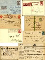 7080: Sammlungen und Posten Europa - Ganzsachen