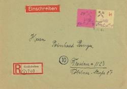 960: Deutsche Lokalausgabe Grossräschen - Besonderheiten