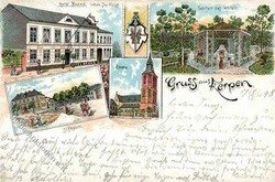 105010: Deutschland West, Plz Gebiet W-50, 501 Bergheim- Erft