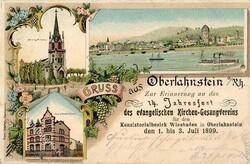 105420: Deutschland West, Plz Gebiet W-54, 542 Lahnstein
