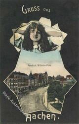 105100: Deutschland West, Plz Gebiet W-51, 510 Aachen