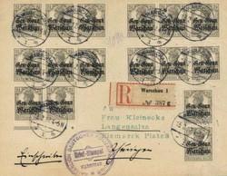 400: German Occupation World War I Poland - Specialties