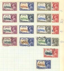 7100: Sammlungen und Posten Andorra