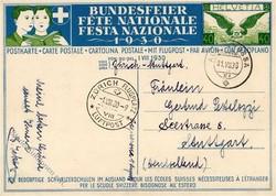 5655: Schweiz - Ganzsachen