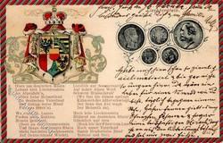 4175: Liechtenstein - Postkarten
