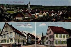 106950: Deutschland West, Plz Gebiet W-69, 695 Mosbach- Baden