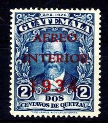 2930: Guatemala - Flugpostmarken