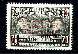 2425: Ecuador - Zwangszuschlagsmarken