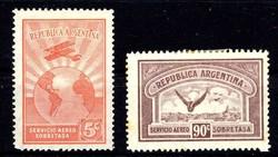1715: Argentinien - Flugpostmarken