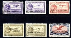 4425: Mexiko - Dienstmarken