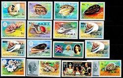 1605: Aitutaki - Dienstmarken