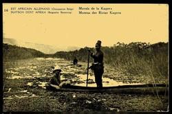 1855: Belgisch-Kongo Belgische Besetzung Deutschostafrika - Postkarten