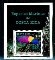 2320: Costa Rica - Souvenir / miniature sheetlets