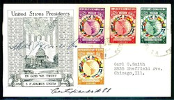 2410: Dominikanische Republik - Autographen