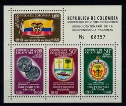 3930: Kolumbien - Expressmarken
