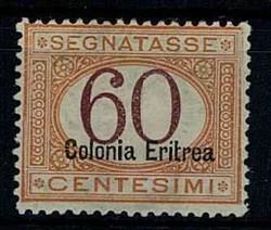 3560: Italienisch Eritrea - Portomarken