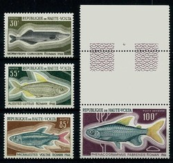 4735: Obervolta - Flugpostmarken