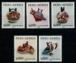 4915: Peru - Airmail stamps