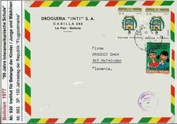 1905: Bolivien - Flugpostmarken