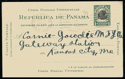 4890: Panama Kanalzone - Ganzsachen