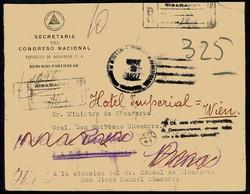 4590: Nicaragua - Dienstmarken