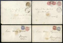 7999: Altdeutschland Preussen - Briefe Posten