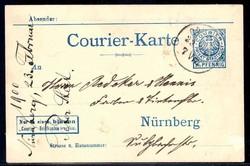 140: Deutsches Reich Stadtpost - Privatganzsachen
