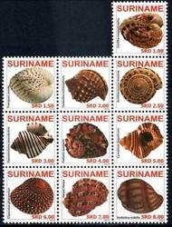 6130: Surinam - Zusammendrucke
