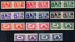 1545: Ägäische Inseln - Paketmarken