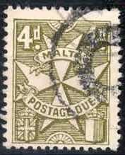4355: Malta - Dienstmarken