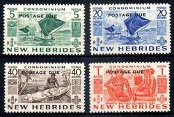 4535: Neue Hebriden - Portomarken
