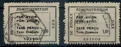 1680: Angola - Flugpostmarken