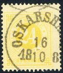 5625050: Schweden Ziffer im Kreis Ausgabe