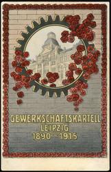 117000: Deutschland Ost, Plz Gebiet O-70, 700-709 Leipzig Ort - Postkarten
