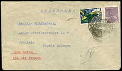 1935: Brasilien - Briefe Posten
