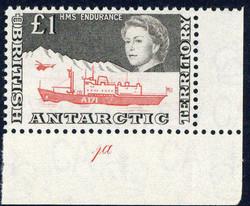 1960: Britische Gebiete in der Antarktis