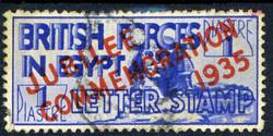 2910: GrossbritannienBritische Militärpost in -gypten