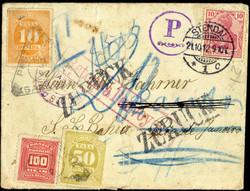 1935: Brasilien - Portomarken