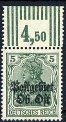 370: Deutsche Besetzung I. WK Postgebiet Ober Ost