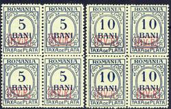 420: Deutsche Besetzung I. WK Rumänien - Portomarken