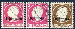 3345: Island - Dienstmarken