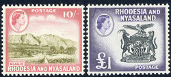 5360: Rhodesien und Nyassaland