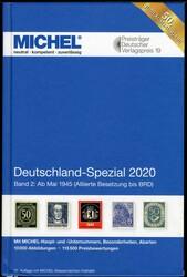 8710: Michel Kataloge Deutschland - Sammlungen