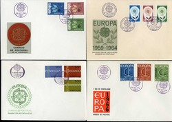 7660: Collections and Lots Europe CEPT - Covers bulk lot