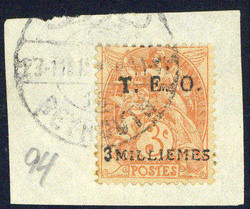 6140015: Syrien Französische Levante Postämter