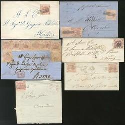 7160: Sammlungen und Posten Italienische Staaten - Briefe Posten