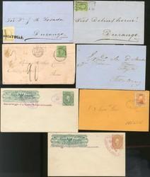 4425: Mexiko - Briefe Posten