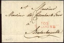80: Altdeutschland Preussen - Vorphilatelie